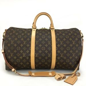 Louis Vuitton Keepall Bandouliere: LIKE-NEW +Strap